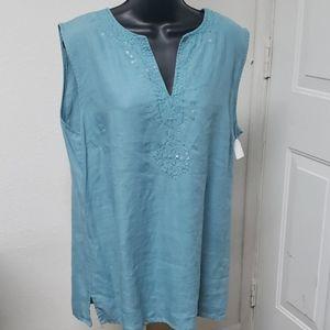 5/ $15 Style and Co. Tunic sleeveless size 18